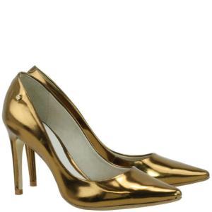 Scarpin Specchio Dourado